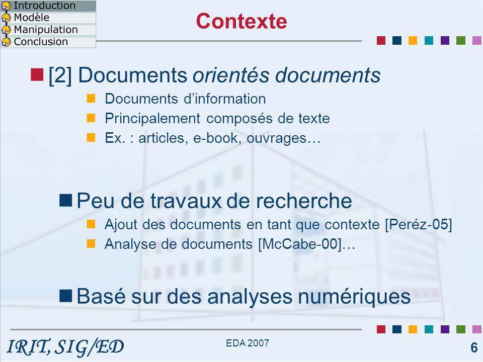 [2] Documents orientés documents